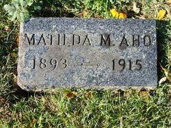 Matilda <i>Kopala</i> Aho