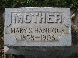 Mary S <i>Curtis</i> Hancock