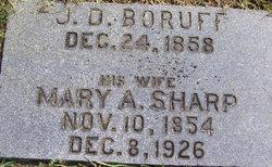Mary Ann <i>Sharp</i> Boruff