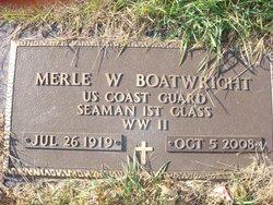 Merle W Boatwright
