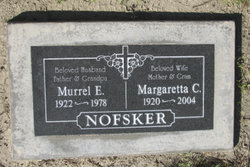 MARGARET C <i>SVITEK</i> NOFSKER