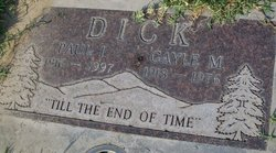 Gayle M Dick