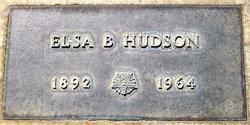 Elsa B Hudson