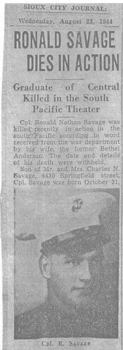 Ronald Nathan Savage