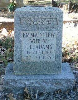 Emma S. <i>Tew</i> Adams