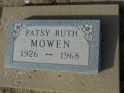 Patsy Ruth <i>Matheson</i> Mowen