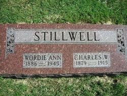 Anna W Wordie <i>Bernard</i> Stillwell