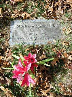 Dorothy <i>Wiseman</i> Baker