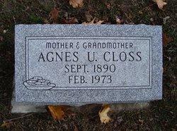 Agnes U. <i>Pratt</i> Closs