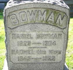 Rachel <i>Lang</i> Bowman