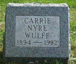 Carrie <i>Nyre</i> Wulff