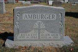 Rosa <i>Lee</i> Amburger
