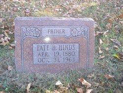Hiram Lafayette Fate Hinds