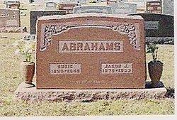 Susanna Susie <i>Boese</i> Abrahams