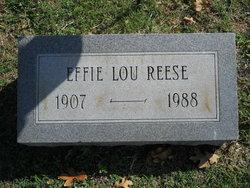 Effie Lou Reese