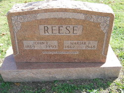 John Lemuel Muck Reese