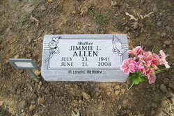 Jimmie Lee <i>Gibson</i> Allen