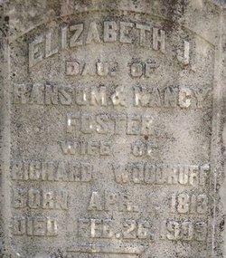Elizabeth Jane <i>Foster</i> Woodruff