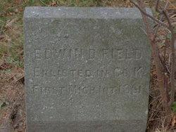 Pvt Edwin D. Field