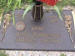 Mary Katherine <i>Grimes</i> Avery