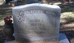 Lucille Leoda Granny <i>Moody</i> Hyman