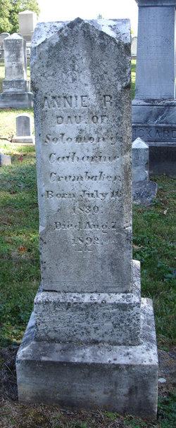 Annie R Crumbaker