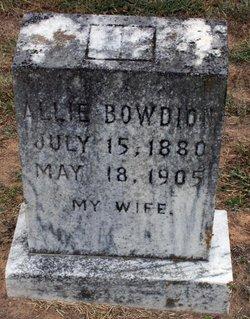 Allie <i>Cook</i> Bowdoin