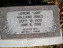 Lorene Lori <i>Holland</i> Jones