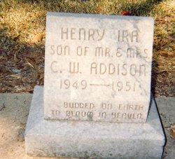 Henry Ira Addison