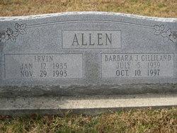Barbara J. <i>Gilliland</i> Allen