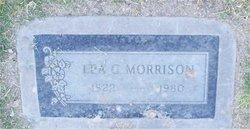 Ira G Morrison