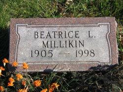 Beatrice L Millikin