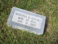Winona Bernice Adams