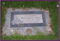 Marguerite Abel