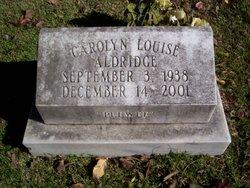 Carolyn Louise Aldridge