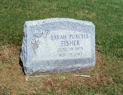 Sarah A <i>Purcell</i> Fisher