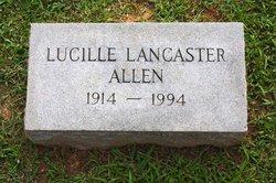 Lucille <i>Lancaster</i> Allen