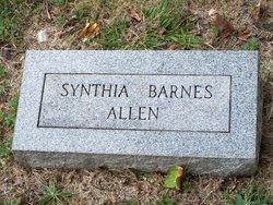 Synthia <i>Barnes</i> Allen