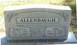 Ethel <i>Walker</i> Allenbaugh