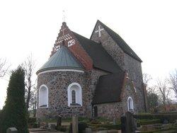 Gamla Uppsala kyrka och kyrkog�rd