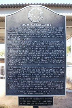 Edom Cemetery