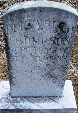 Mary Elizabeth <i>Teague</i> Thompson