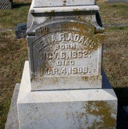 Lena R. <i>Teague</i> Adams