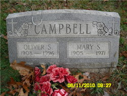 Mary Susan Susie <i>Cook</i> Campbell