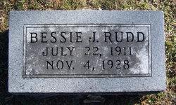 Bessie J. Rudd