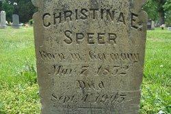 Christina E Speer