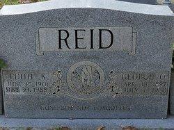 Edith <i>Kilpatrick</i> Reid