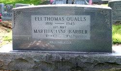 Martha Jane <i>Barber</i> Qualls