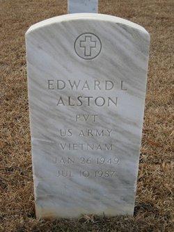 Pvt Edward Lee Alston