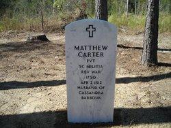 Matthew Carter, Sr